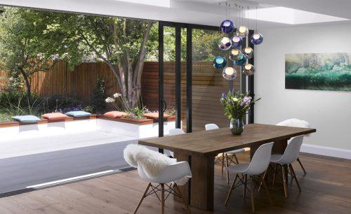 Flushglaze rooflight - daylight in living room