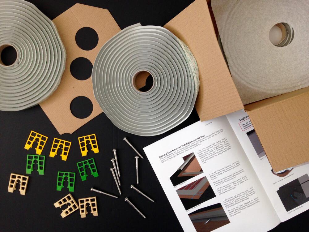 Installation Kit Glazing Vision