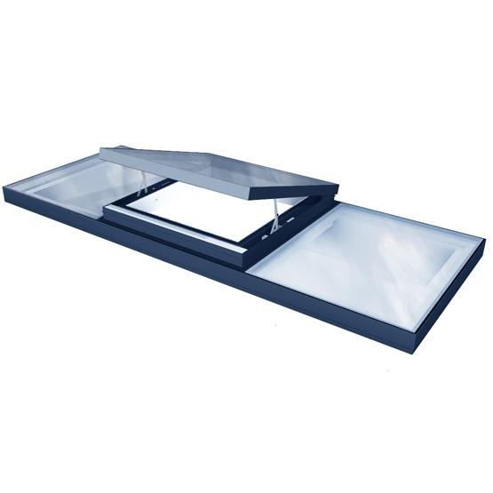 Integrated ventilation Rooflight